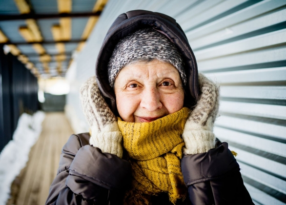 Warm Clothing for Patients Experiencing Homelessness